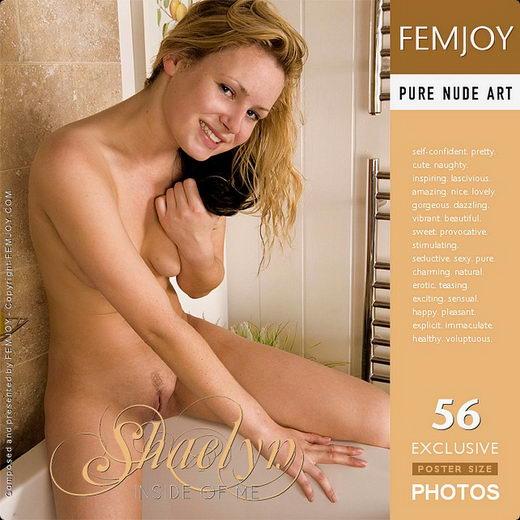 Shaelyn - `New Model - Inside Of Me` - by Iain for FEMJOY
