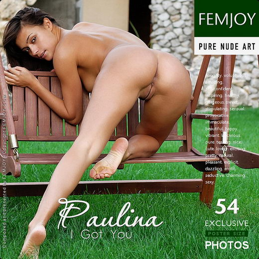 Paulina - `I Got You` - by Sven Wildhan for FEMJOY