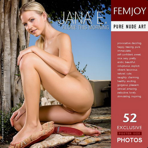 Jana E - `Alone This Morning` - by Demian Rossi for FEMJOY