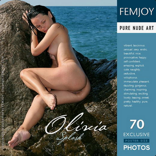 Olivia - `Splash` - by Valery Anzilov for FEMJOY