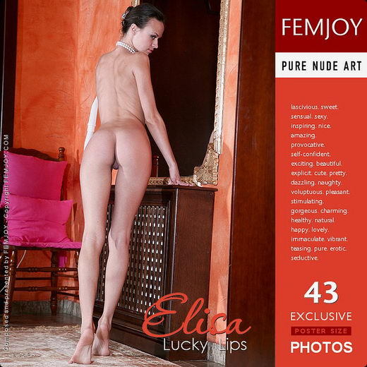 Elisa - `Lucky Lips` - by Steve Nazaroff for FEMJOY