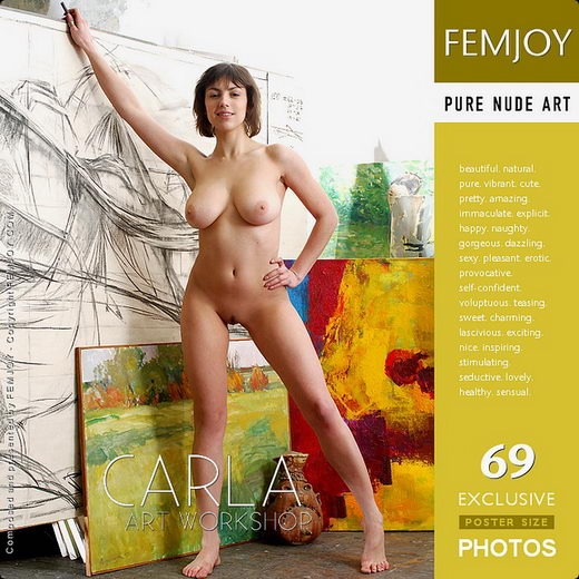 Carla - `Art Workshop` - by Sven Wildhan for FEMJOY