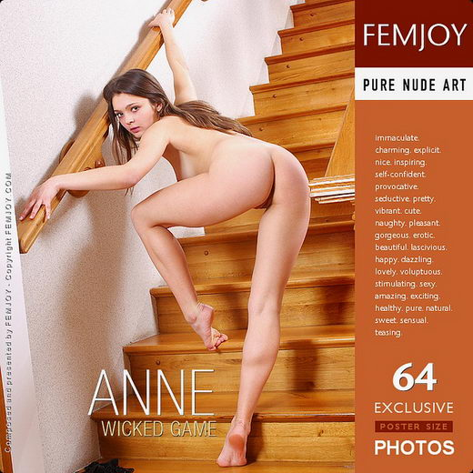 Anne - `Wicked Game` - by Sven Wildhan for FEMJOY