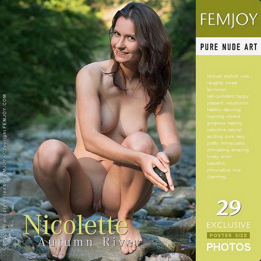 Nicolette - `Autumn River` - by Stefan Soell for FEMJOY