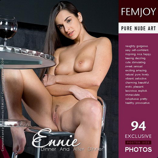 Ennie - `Dinner and After Dinner` - by Lorenzo Renzi for FEMJOY