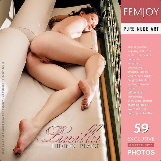 Lucilla - `Hiding Place` - by Pedro Saudek for FEMJOY