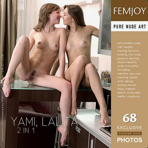 Lalita & Yami - `2 in 1` - by Sven Wildhan for FEMJOY