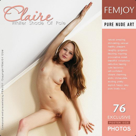 Claire - `Whiter Shade of Pale` - for FEMJOY