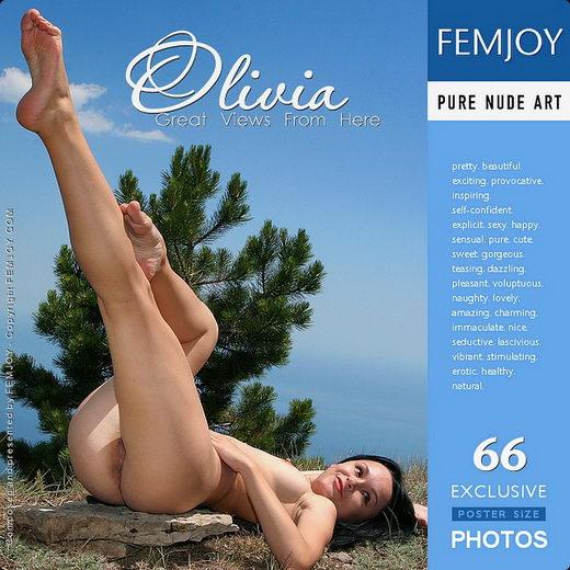 Olivia - `Great Views from Here` - by Valery Anzilov for FEMJOY