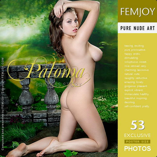 Paloma - `Princess Story` - by Tom Leonard for FEMJOY
