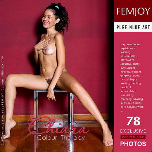 Chiara - `Colour Therapy` - by Lorenzo Renzi for FEMJOY