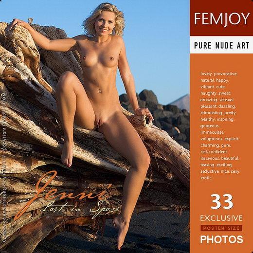 Jenni - `Lost in Space` - by Stefan Soell for FEMJOY
