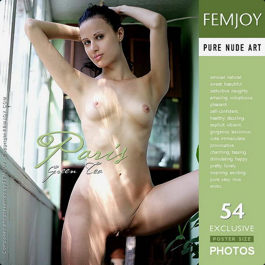 Paris - `Green Tea` - by Palmer for FEMJOY