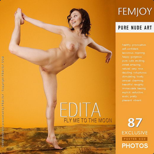 Edita - `Fly Me To The Moon` - for FEMJOY
