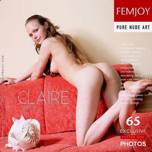 Claire - `Diva` - for FEMJOY