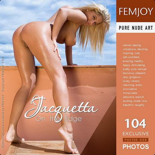 Jacquetta - `On the Edge` - by Lorenzo Renzi for FEMJOY