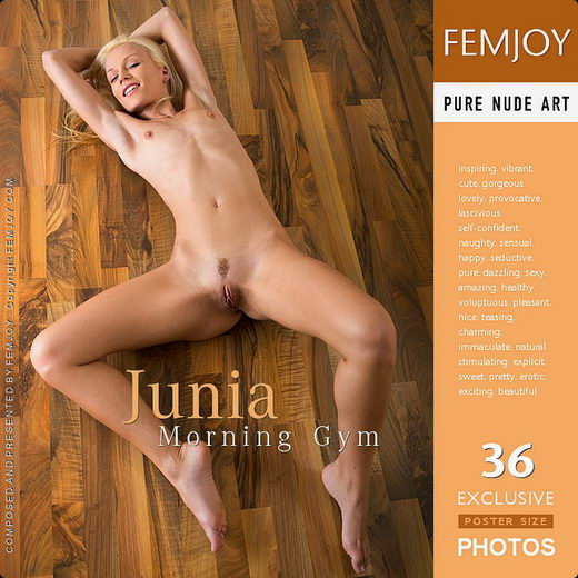 Junia - `Morning Gym` - for FEMJOY