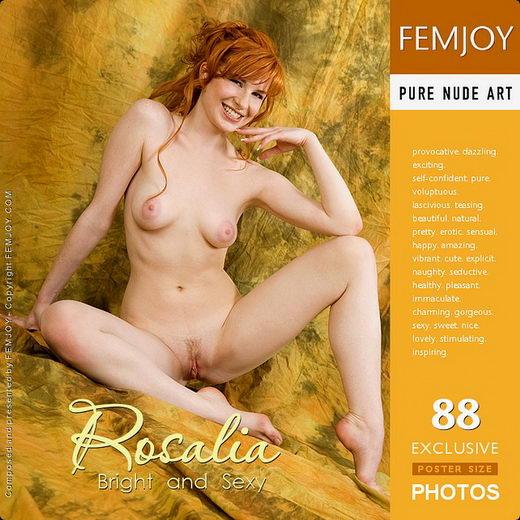 Rosalia - `Bright and Sexy` - for FEMJOY