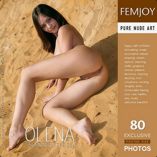Olena - `Burning in the Sun` - by Vic Truman for FEMJOY