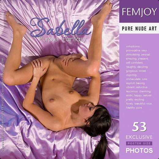 Sabella - `Purple Fantasy` - by Iain for FEMJOY