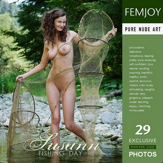 Susann - `Fishing Day` - by Stefan Soell for FEMJOY