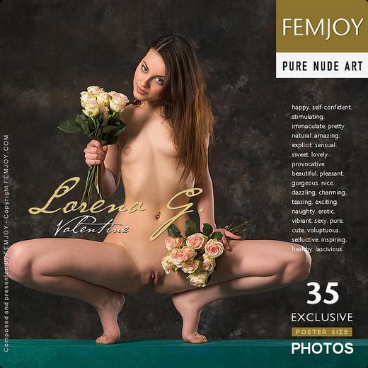 Lorena G - `Valentine` - by Stefan Soell for FEMJOY