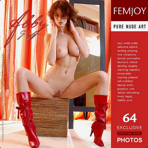 Abby - `Ginger` - by Sven Wildhan for FEMJOY