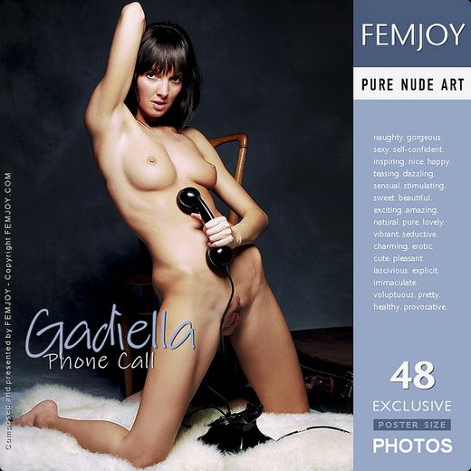 Gadiella - `Phone Call` - by Pedro Saudek for FEMJOY