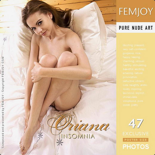 Oriana - `Insomnia` - by Iain for FEMJOY