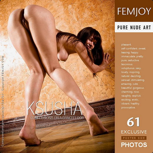Ksusha - `Confessions On A Dancefloor` - by Demian Rossi for FEMJOY