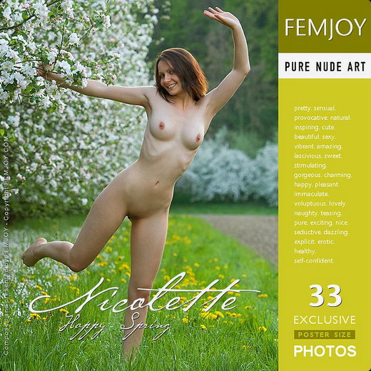 Nicolette - `Happy Spring` - by Stefan Soell for FEMJOY
