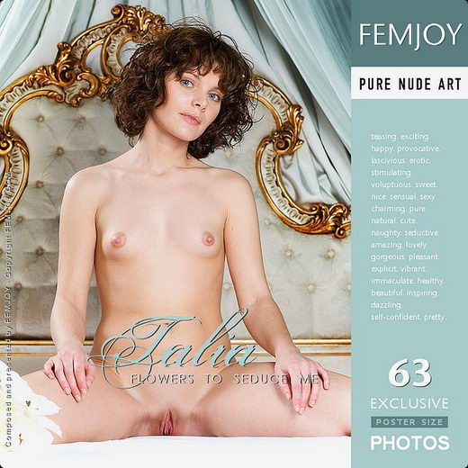 Talia - `Flower to Seduce Me` - for FEMJOY