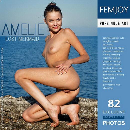 Amelie in Lost Mermaid gallery from FEMJOY by Jan Svend
