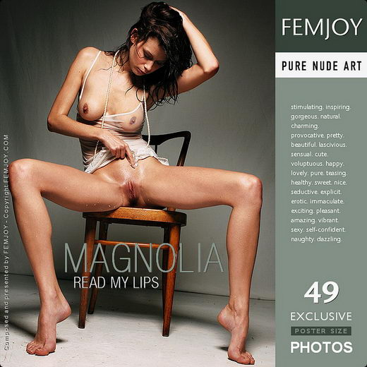 Magnolia - `Read My Lips` - by Pedro Saudek for FEMJOY