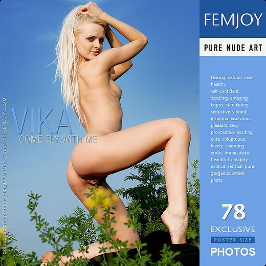 Vika - `Come Fly With Me` - by Depp for FEMJOY