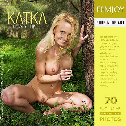 Katka - `The Way I Like It` - by Paolo Carlos for FEMJOY