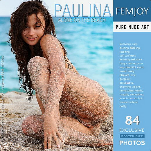 Paulina - `Alone On The Beach` - by Sven Wildhan for FEMJOY