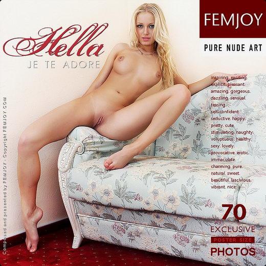 Hella - `Je Te Adore` - by Valery Anzilov for FEMJOY