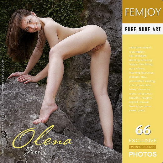 Olena - `Free` - by Valery Anzilov for FEMJOY