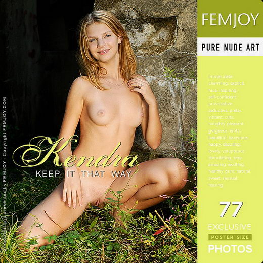 Kendra - `Keep It That Way` - by Jan Svend for FEMJOY