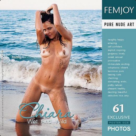 Chiara - `Wet And Wild` - by Lorenzo Renzi for FEMJOY