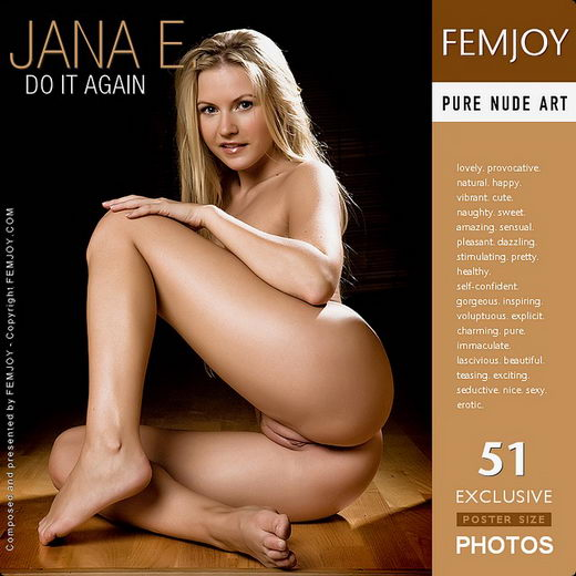 Jana E - `Do It Again` - by Demian Rossi for FEMJOY