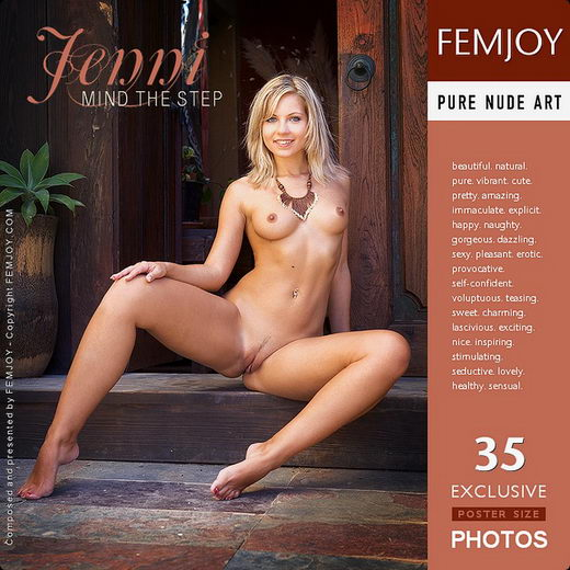 Jenni - `Mind The Step` - by Stefan Soell for FEMJOY