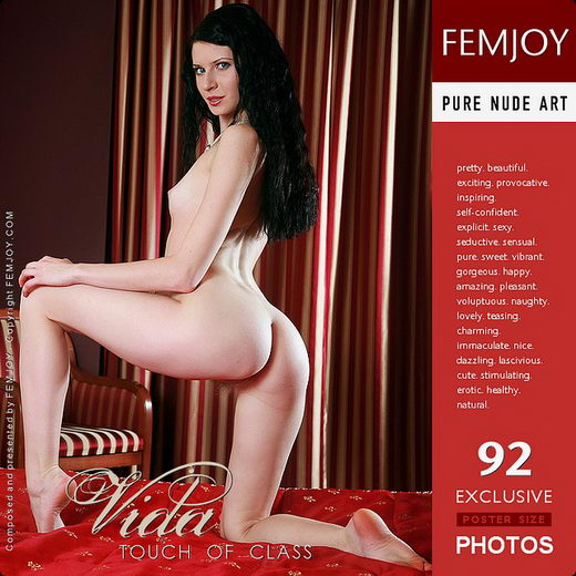 Vida - `Touch Of Class` - by Steve Nazaroff for FEMJOY