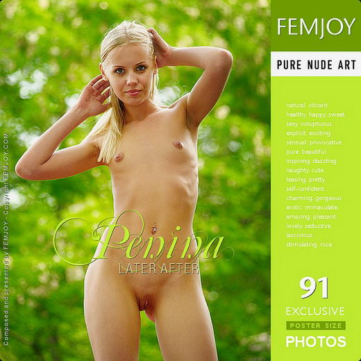Penina - `Later After` - by Jan Svend for FEMJOY
