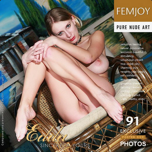 Edda - `Sincerely Yours` - by Steve Nazaroff for FEMJOY
