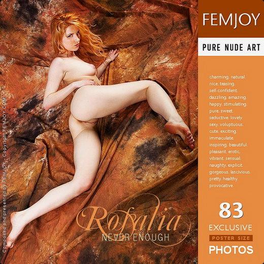 Rosalia - `Never Enough` - for FEMJOY