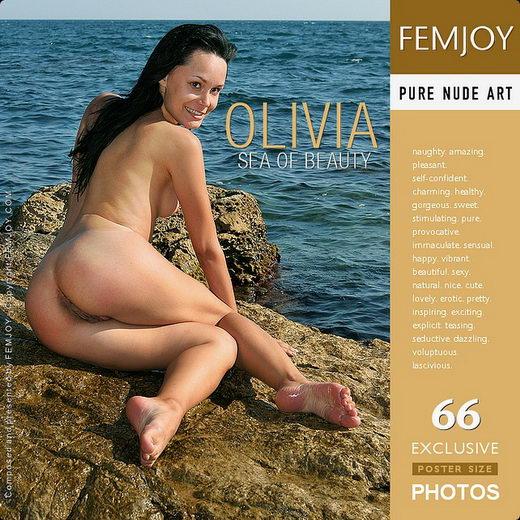 Olivia - `Sea Of Beauty` - by Valery Anzilov for FEMJOY