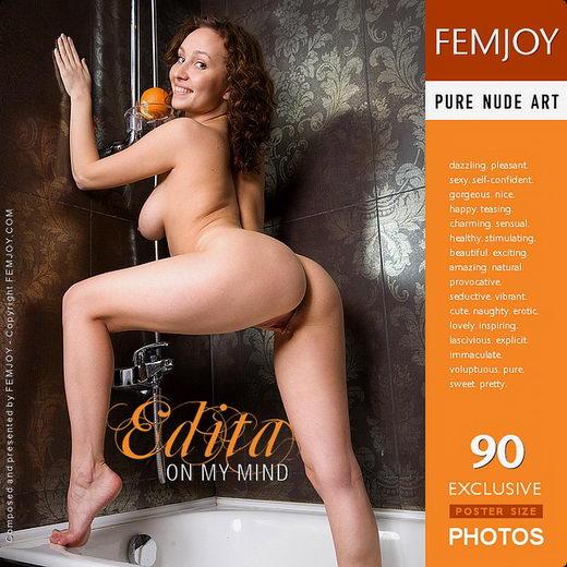 Edita - `On My Mind` - for FEMJOY