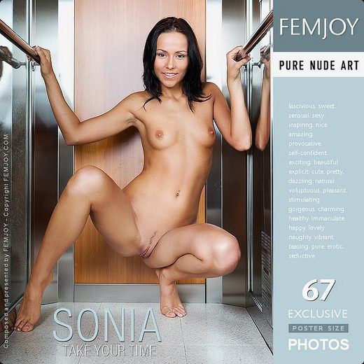 Sonia - `Take Your Time` - by Matteo Bosco for FEMJOY